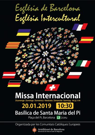 Missa Internacional 20 de gener 2019