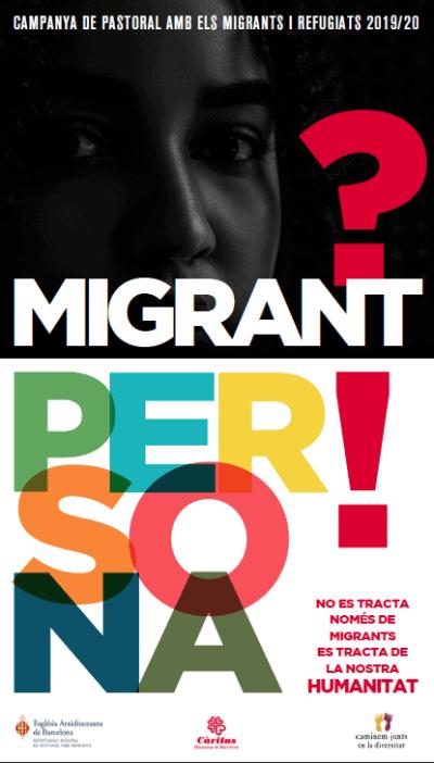 Cartell Jornada Migrants 2019
