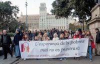 III Jornada mundial pobres Barcelona 2019