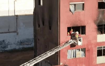 Nota de premsa de la Plataforma per l'incendi de Badadona