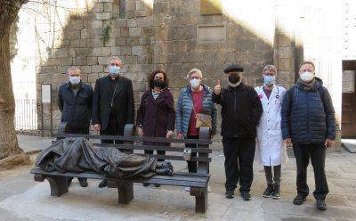 bisbe Vilanova visita l'hospital de campanya 150321
