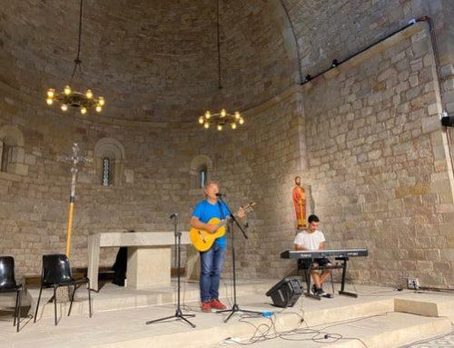 Concert i testimonis per a l'esperança a Sant Pau del Camp