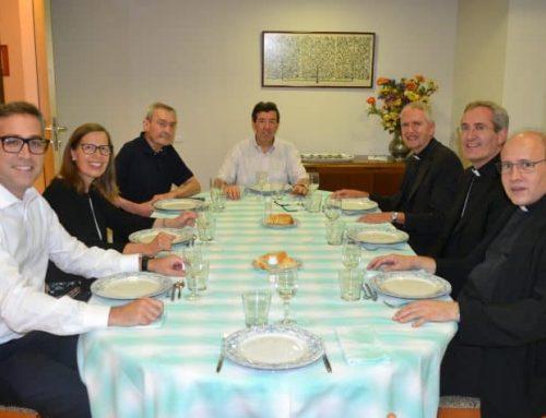 El bisbe Vilanova visita Braval i els encoratja a «seguir treballant a prop de la gent»